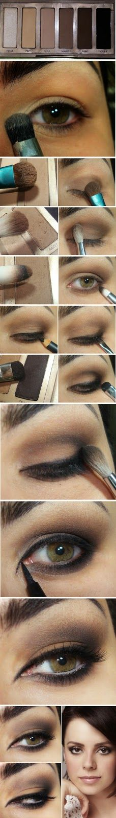 Neutral Inspired Makeup Tutorials - Step by Step / LoLus Makeup Fashion http://thepageantplanet.com/category/hair-and-makeup/