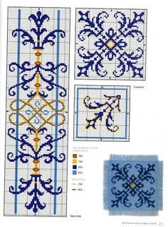 """Gallery.ru / Фото #23 - Elizabethan Cross Stitch - Orlanda [   """"So Pretty Cross-Stitch"""",   """"Uploaded book in gallery ru."""",   """"Placemat and coaster pattern."""",   """"Would make a lovely bookmark, I think!"""",   """"~ Living a Beautiful Life ~ Gallery."""",   """"Border and medallion"""" ] #<br/> # #Flourish #Border,<br/> # #Cross #Stitch #Borders,<br/> # #Cross #Stitching,<br/> # #Cross #Stitch #Bookmarks,<br/> # #Cross #Stitch #Patterns,<br/> # #Crossstitch,<br/> # #Stitches,<br/> # #Blackwork,<br/> #…"""