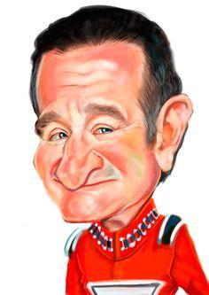 Robin Williams by Tuncay Erol [©2014 ErolArt]