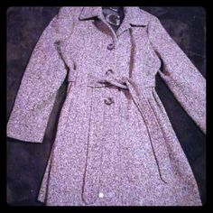 GUESS peacoat size xl Gorgeous 3/4 length coat. Button down and cute tie belt waist. Perfect winter coat. SIZE xl Guess Jackets & Coats Pea Coats