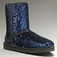 UGG® Australia Classic Short Sparkles Boot EXTENDED SIZES AVAILABLE   from Von Maur #VonMaur #Sparkle #Boots #Ugg