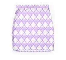 #Pencil #Skirt #moroccan #lavender #white #heaven7 #redbubble #pattern #fabric #fashion