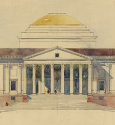 Viceroy's House, New Delhi by Edwin Lutyens 1912 (c) RIBA Collections.tif - Box