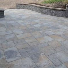 Travertine Paver Pattern