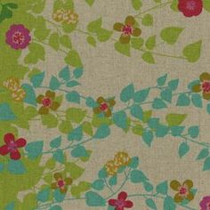 one of many echino fabrics i adore. wish they did fat bundles of their fabrics. with summer approaching, i think i'll blow the dust off the sewing machine and make some stuff for baby girl!