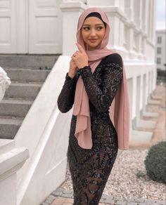 Islamic Fashion, Muslim Fashion, Modest Fashion Hijab, Fashion Outfits, Hijab Fashion Inspiration, Mode Hijab, Hijabs, Internet, Ideas