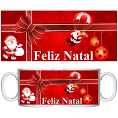 Estampa para caneca Comemorativa Natal 000702 - Customize Transfer