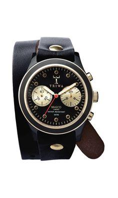Ebony Twist Watch - Plümo Ltd