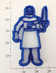 Monty Python Black Knight Cookie Cutter by WarpZone on Etsy, $6.00