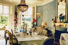 Alice Temperley;s Dining Room, Cricket Court, Somerset
