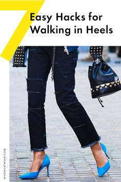 Walking in heels is no easy feat—here are the most foolproof tips for walking on your toes with grace.