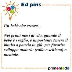 L'educazione in un pin - Consigli per i primi mesi di vita dei neonati  www.primomodo.com