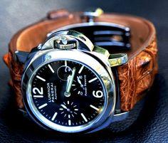 Panerai Luminor Power Reserve 44mm Steel Watch. Jodida preciosidad.