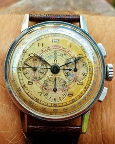 omegaforums: Stunning Vintage OMEGA Calibre 27 CHRO Chronograph...