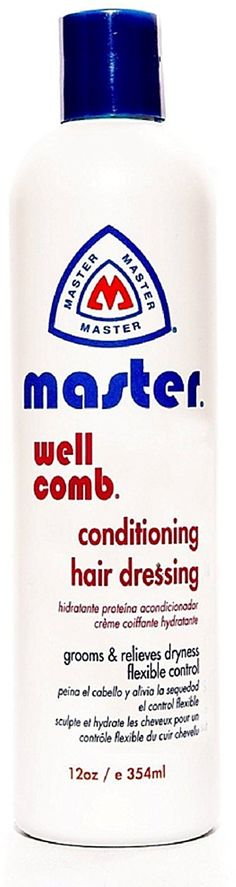 Master Well Comb Conditioning hair dressing 12 oz (Pack of 12) *** This is an Amazon Affiliate link. Check out this great product.