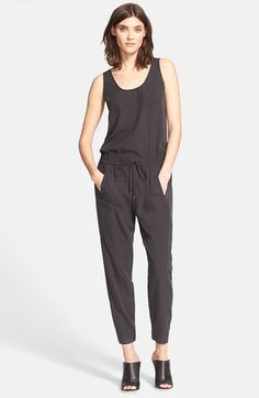 Vince Sleeveless Jumpsuit | Nordstrom