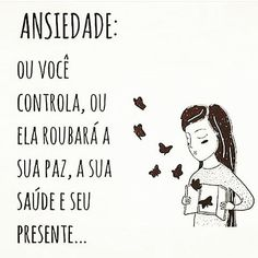 #ansiedade #xoansiedade #calmaria🍃 #calmanaalma #pazinterior #querominhapaz #reticenciaspoeticas♥️ #autoamor #autoestima… I Can Do It, Love You, Little Memes, Thinking Out Loud, Daily Thoughts, Third Eye, Sentences, Best Quotes, Anxiety