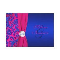 Bridestheshow Brides The Show Wedding Inspiration Fuchsia Pink Blue Invitation Cayman Islands Www Weddingsbylie