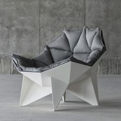 Q1 Lounge Chair by ODESD2 ... Space Age Geodesic Chair
