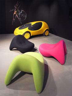 Modern Furniture :: Lounge Chairs by Luigi Colani