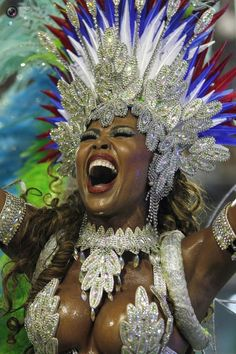 2013 Carnival In Rio de Janeiro.i love Rio De Janeiro. Carnival Dancers, Carnival Girl, Carnival Outfits, Carnival Costumes, Dance Costumes, Carnival Makeup, Trinidad Carnival, Caribbean Carnival, Rio Carnival