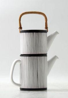 Ceramics  : Stig Lindberg Doubel Pot