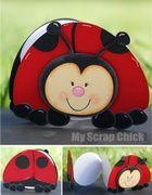 Ladybug Critter Book