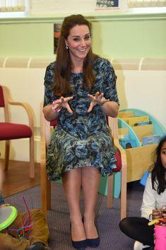 Kate Middleton Photos: The Duchess Of Cambridge Visits Action For Children's Cape Hill Children's Centre