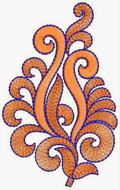 blink draad borduurwerk pleister