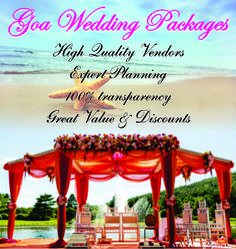 Goa Wedding Packages Are Most Por And Highest Ing Exclusively On My Planning India Look In To Find The Types Of