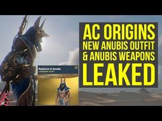 Assassin's Creed Origins DLC New Anubis Outfit & Anubis Weapons LEAKED (AC Origins Best Weapons) - YouTube