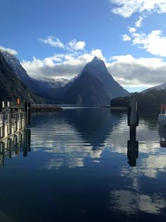 We boarded the Kiwi bus from Queenstown at to start our huge journey to Milford sound which would take all day. Milford Sound, All Pictures, Journey, Mountains, Travel, Viajes, The Journey, Destinations, Traveling