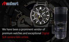 We have been a prominent vendor of premium watches and exceptional Digital SLR Camera Lens Online. Maxkart.co.uk #DSLR #Camera #Lenses #Sigma #Watch #photography #MaxKart #uk #Sale #Casio #Gshock #protek #BabyG #Fossil