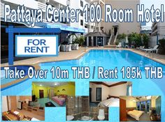 Pattaya Hotel for Rent: center, 6 minutes walk to Walking Street, outdoor swimming pool, bar, restaurant, renovated in 2011, recently refurbished, 24 hour reception security, a wide range of rooms'...