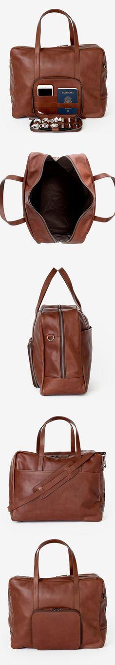 Voyager / Leather Luggage Weekender