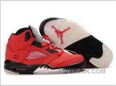 003ab850449a Air Jordan 5 Raging Bull Varsity Red Black Authentique