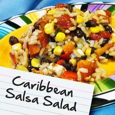 Caribbean Salsa Salad