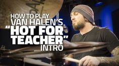 "It's time you joined us at the Drumeo website: - http://drumeo.com In this video, Aaron Edgar demonstrates how to play the intro drum part to the song ""Hot F..."