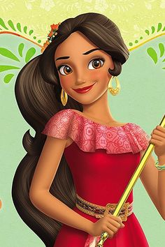 Princess Elena of Avalor Disney Princesses And Princes, Disney Princess Art, Sailor Princess, Princess Elena Of Avalor, Princess Photo, Disney Junior, Baby Disney, Disney Frozen Elsa, Disney Pixar