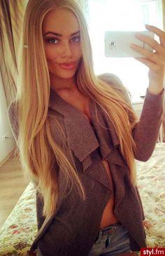 #loveit #hair #longblonde