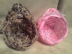 Home made easter baskets!!!