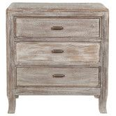 Found it at Wayfair - Amelie 3 Drawer Nightstand Cost: $439.99. #MasterBedroom #HomeDecor