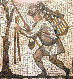 Mosaic at The Byzantine Church
