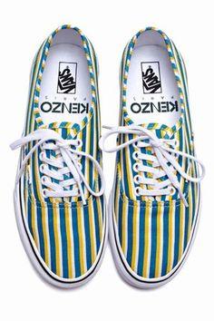 Kenzo Kenzo x Vans Print Sneakers