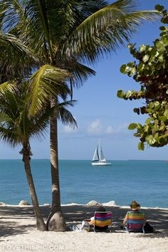 Key West, Florida beach ocean palm trees vacation sailboat florida vacation ideas vacation places key west