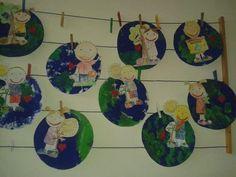 Imagem - Educação Infantil - Aluno On Environment Day, Creations, Butterfly, Ideas, Blog, Painting, Montessori, Macrame, Earth