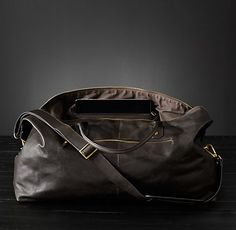 Italian Leather Travel Accessories Collection | RH