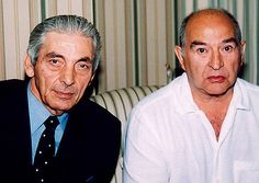 Tony Lambrianou & Freddie Foreman   by Simon Crubellie   British Mobsters