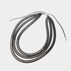 tube mesh necklace