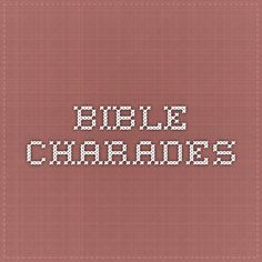 Bible_Charades You make it up to the person you did it to you do NOT play make-believe. That's just mocking reality.